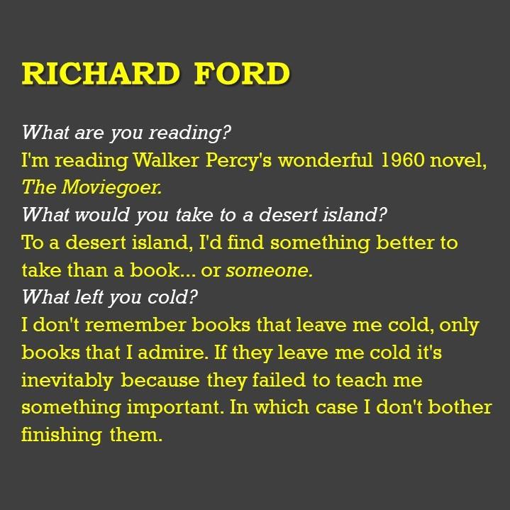 Richard Ford - Powerpoint Slide for Upload